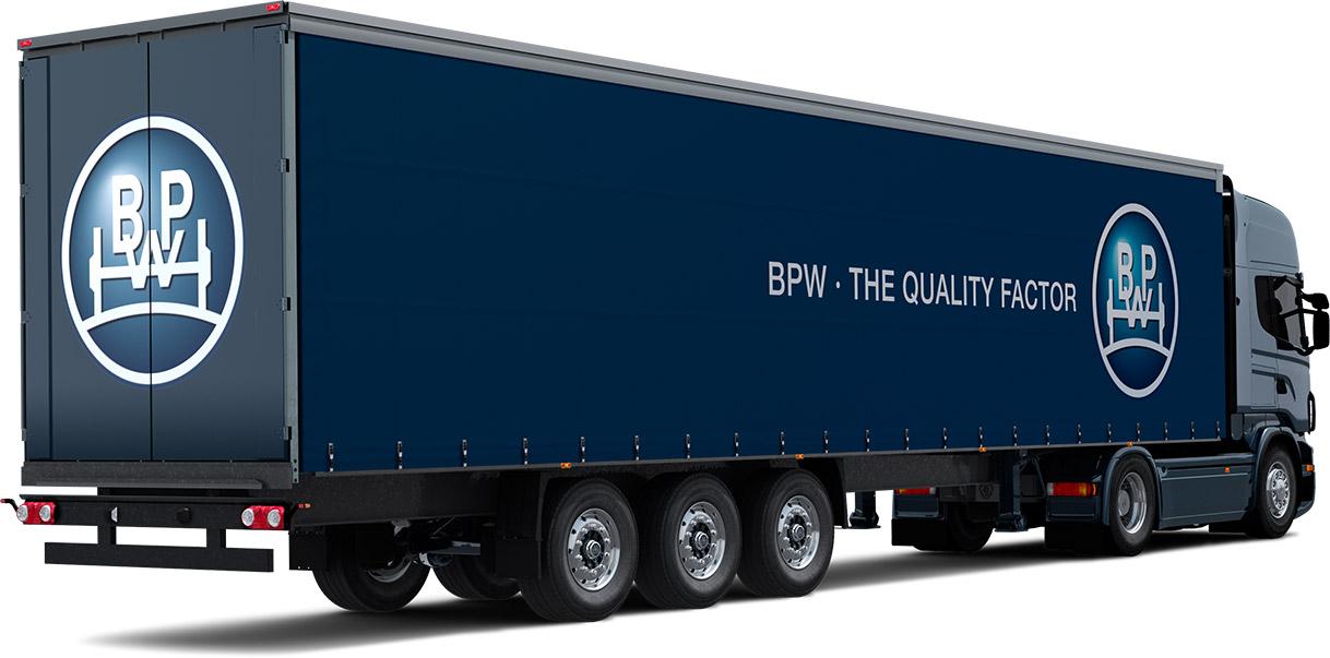 trailer blau