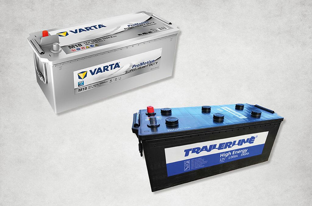 Baterías Varta y Trailerline